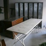 sold56 marble top bistro table