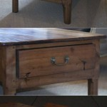 sold58 coffee table 19c French blonde fruitwood