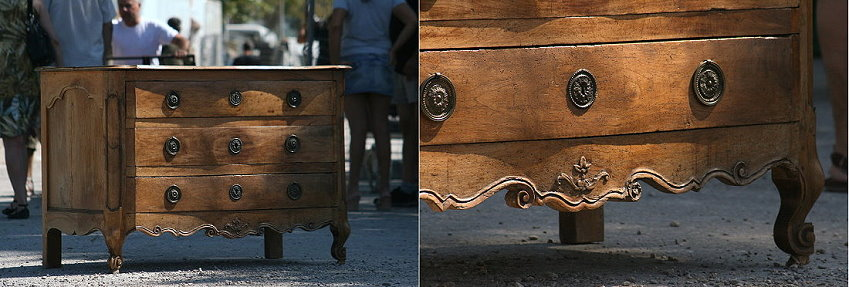 18c provencale commode in walnut - lantiques